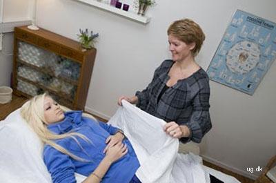 Akupunktøren i arbejde
