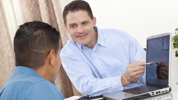 iværksætter søger rådgivning