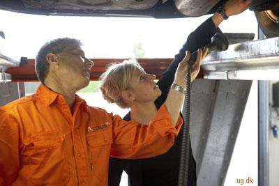 Vejledning - Du giver kunden råd om vedligeholdelse af bilen.