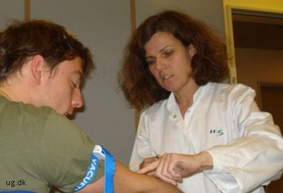 Selvom Lene er glad for at have patienter at gøre, er det i det faglige de store udfordringer er.