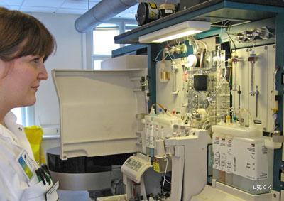 foto af biokemiker