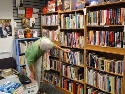 foto af boghandler