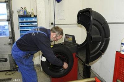afbalancering af hjul