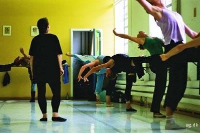 foto af danseundervisning
