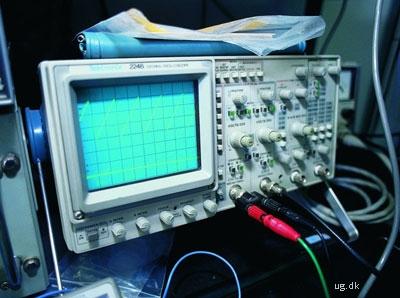 foto af måleapparat