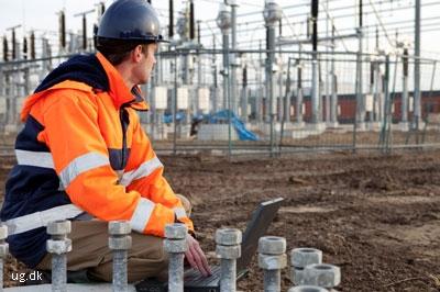 Foto af energiingeniør
