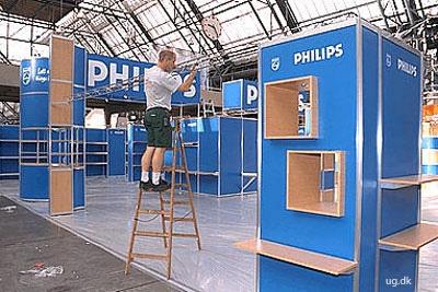 foto af udstillingstekniker