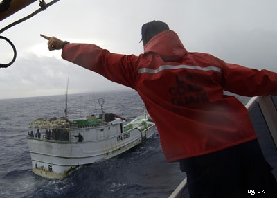 foto af fiskerikontrol