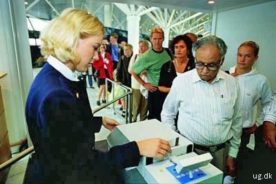 foto af flytrafikassistent