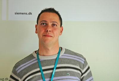 Adrian har ansvaret for eksisterende kunder i den offentlige sektor.