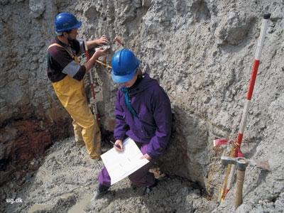 foto af geologer