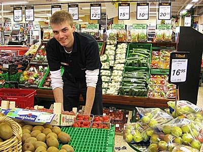 foto af grønthandler