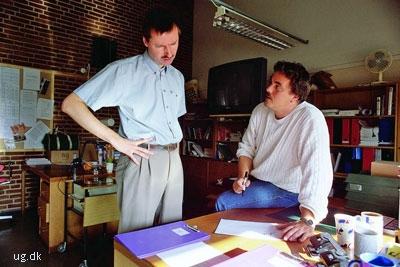 foto af lærere på en handelsskole