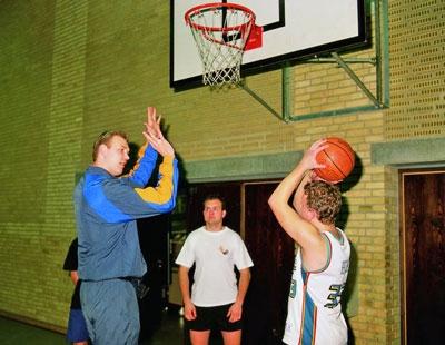 foto af idrætsinstruktør