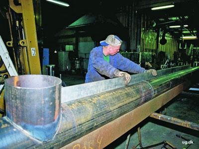 foto af industrirørsmed