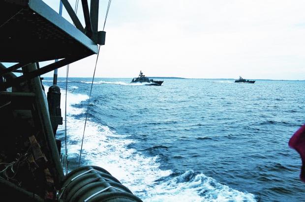 søværnets skibe i danske farvande