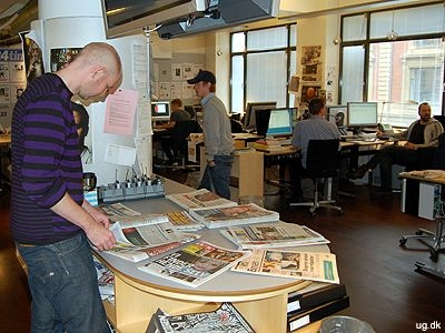 Avislæsning - Som journalist skal man være velorienteret.