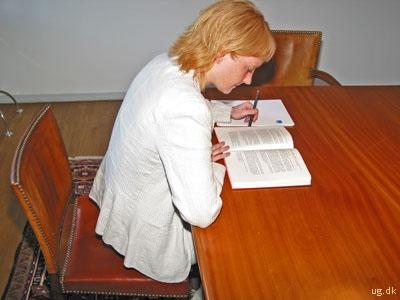 foto af jurist