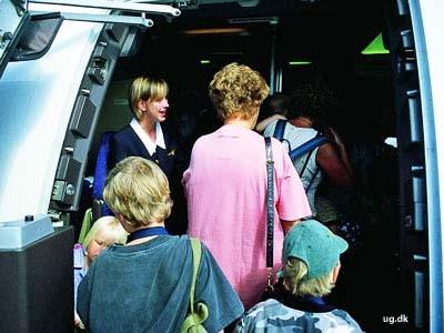 foto af stewardesse