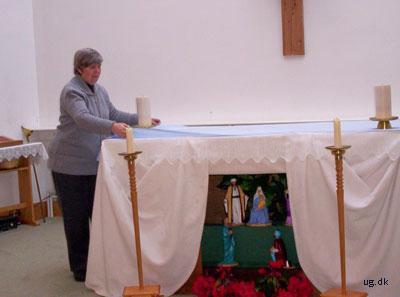 foto af kirketjener