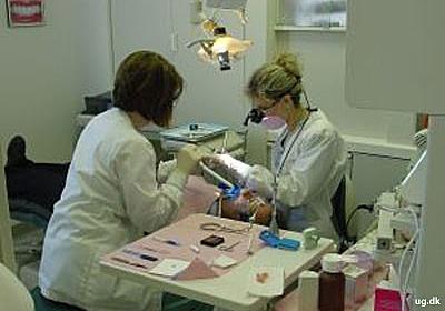 foto af klinisk tandtekniker