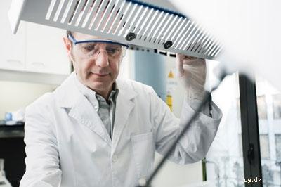 foto af laboratorietekniker