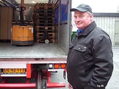 foto af lastbilchauffør