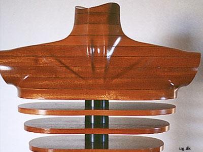foto af møbelskulptur