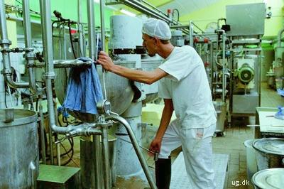 foto af mølleriarbejder