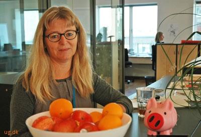 Som chef for økonomien holder Lisbeth styr på kommunens penge.