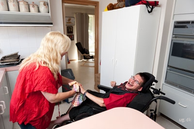 foto af omsorgsmedhjælper