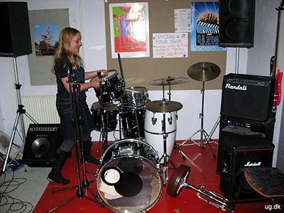 Musikrummet - Nogle af beboerne og pædagogerne har et band, som optræder ved forskellige lejligheder.