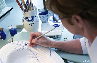 foto af porcelænsmaler
