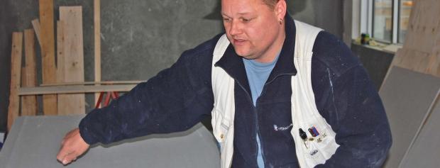 Interview med tømrersvend på byggeplads