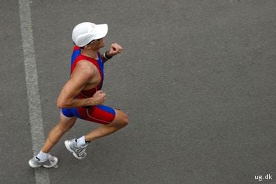 foto af professionel løber