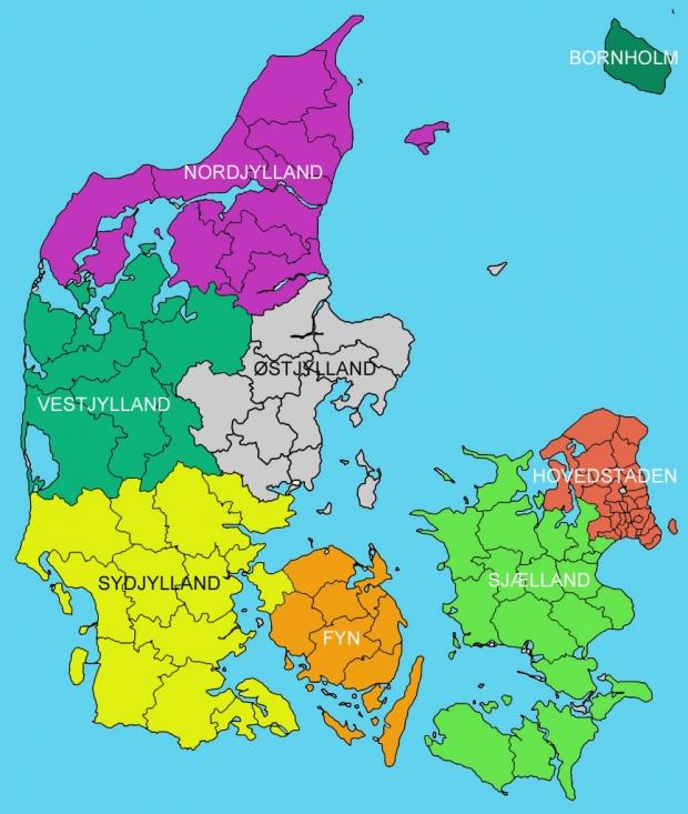 Beskæftigelsesregioner i Danmark