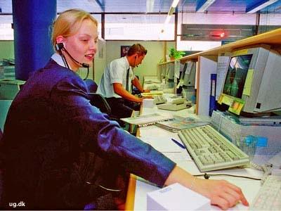 foto af rejsebureaumedarbejder