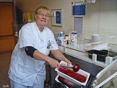 foto af rengøringsassistent