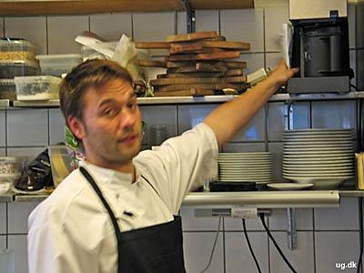Mikkel køkkenchef