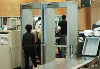 foto af sikkerhedsvagter