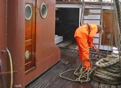 foto af skibsassistent