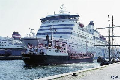 foto af passagerskibe