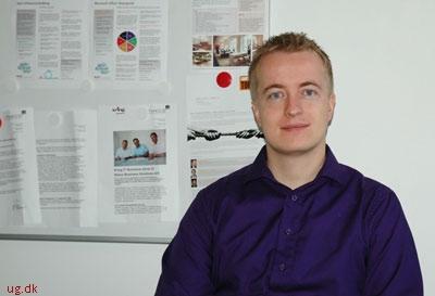 Gennem sit netværk fandt Anders job som senior softwareudvikler hos Kring.