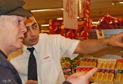 En souchef kender butikken og kan vise kunderne hvor samtlige varer står.