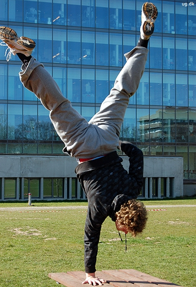 Det kræver god fysik at være idrætsstuderende.