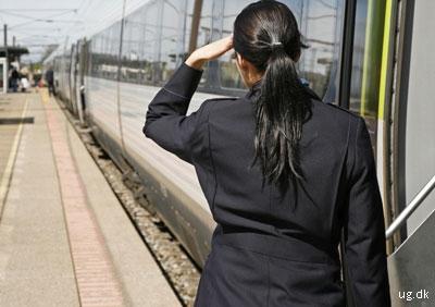 foto af togfører