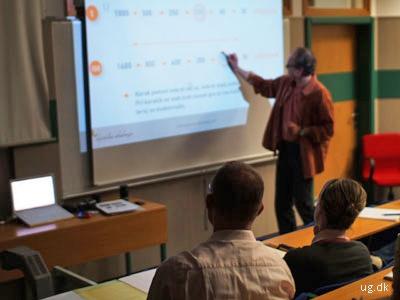 foto af universitetslærer
