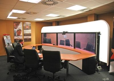 foto af rum til videokonferencer