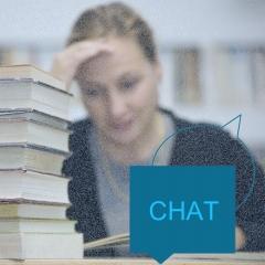 Chat om videregående uddannelse