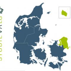 Kort over Studievalg København